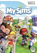 Mysims cover wii