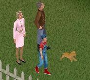 Famille Deschamps (Les Sims 1)