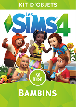 Packshot Les Sims 4 Bambins.png