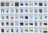 Sims4 Y el Reino de la Magia Objetos1
