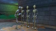 TS4 помощник-скелет и строй скелетов
