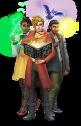 Les Sims 4 Monde magique Render 01