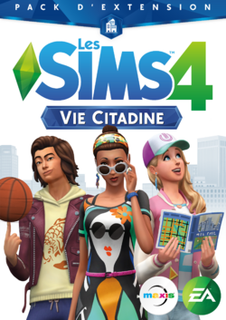 Packshot Les Sims 4 Vie Citadine.png