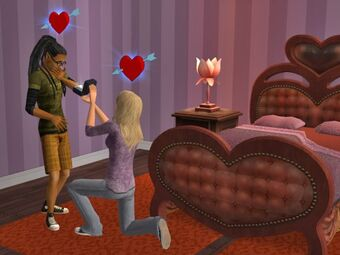 Heart Shaped Bed The Sims Wiki Fandom