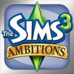 Sims 3 Ambitions iPhone logo.jpg