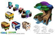 Sims 4 Infantes Arte Conceptual 1