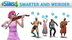 The Sims 4 Smarter and Weirder Official Gameplay Trailer