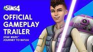 Los Sims™ 4 Star Wars™ Viaje a Batuu Tráiler oficial de juego
