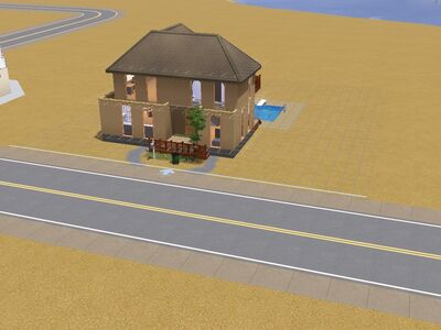 Casa Valemutxo hecho por Luis Simspedia