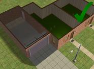 Ts2 custom apartment gg - correct garage door usage