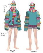Forbidden Sweater Concept Art