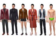 Mortimer Goth ts4 wardrobe