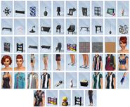 Sims4 Noche de Bolos CAS y Objetos