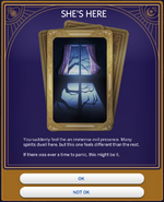 Haunted House Temperance Card