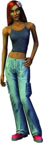 Nina Caliente (Los Sims 2 consola).jpg