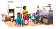 Sims4 mi primera mascota Render 3