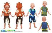 Les Sims 4 Bambins Concept art 2