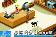 The Sims 2 Pets GBA Screenshot 10