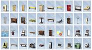 Sims4 Dias de Universidad Objetos3