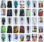 Sims 4 Escapada en la Nieve CAS 2