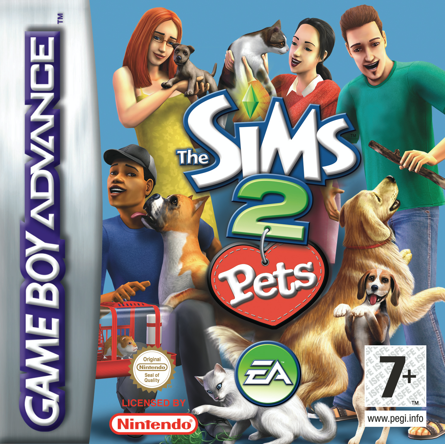 The Sims 2: Pets (GBA)