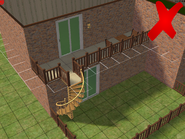 Ts2 custom apartment gg - incorrect balcony construction 1