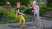 Grandma and teen in Generations
