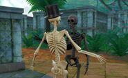 TS4 Скелеты