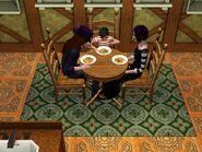 Los Lápida comiendo sims 3