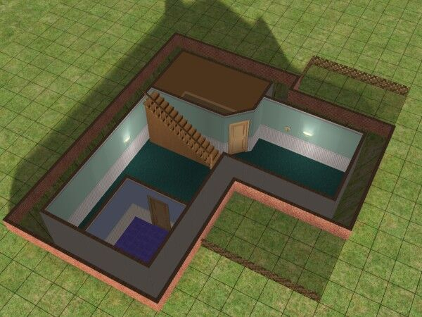Building A Basement Using Foundations, How To Build Basement Stairs Sims 4