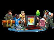 Sims4 Cuarto de Niños Render3