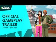 The Sims 4 Snowy Escape- Official Gameplay Trailer