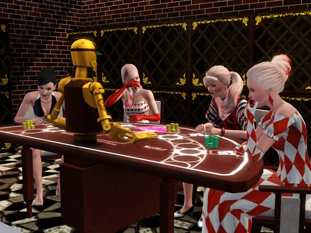 Hit 'em Harder Blackjack Table