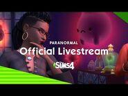 De Sims 4 Paranormaal Livestream