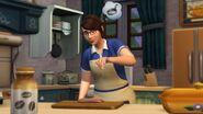 Sims 4 Cocina campestre 1