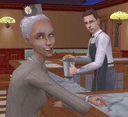 Госпожа Пьяная-Помятая у бара