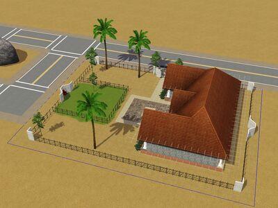 Casa Fantoche para el proyecto de Luis Simspedia