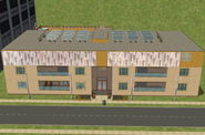 Teleprompter Apartments front view