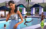 Les Sims 3 Fond d'écran Piscine 1680x1050
