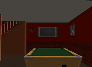 Amar's Restaurant looking towards TV and pool table