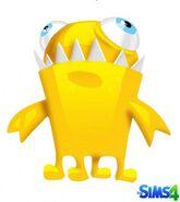 Chompy el monstruo Los Sims 4