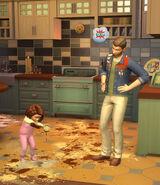 Sims4 Papas y Mamas 4