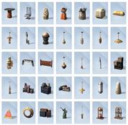 Sims 4 Viaje a Batuu Objetos 1