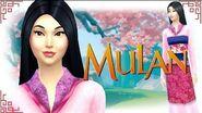 The Sims 4 Create A Sim - Mulan (Disney Princess Series)-1