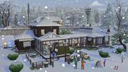 Sims 4 Escapada en la Nieve 2
