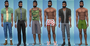 Brant Hecking Outfits CAS