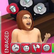The Sims 4 Negative Moodlets (Enraged)