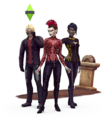 The Sims 4 Vampires Render 03