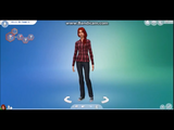 Fanon:Unnamed Woman (The Sims 4 Create a Sim Sakura Haruno (Sim Lord))
