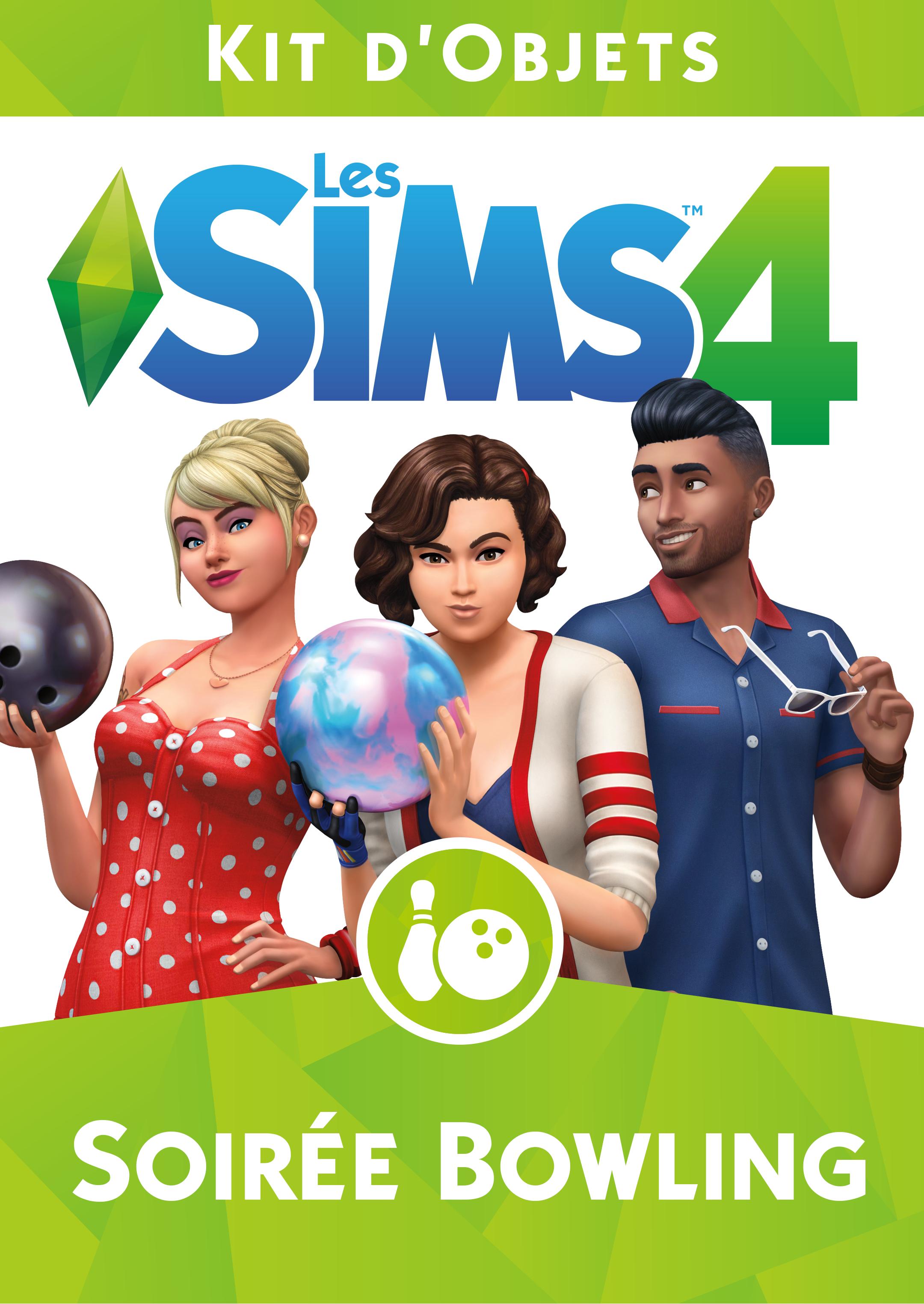 Les Sims 4: Soirée Bowling